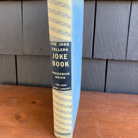The Joke Tellers Book by Frederick Meier